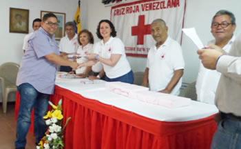 Cruz Roja reconoce labor de StopVIH