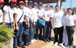 Cruz Roja y StopVIH en Robledal