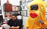 Jhonatan Rodríguez ofrece rueda de prensa en vísperas del Carnaval 2013
