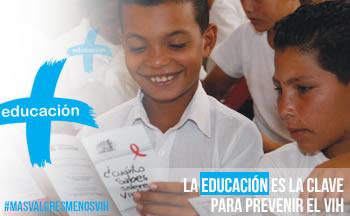 La educación es la clave para prevenir el VIH