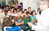 Estudiantes de IUTIRLA participan en cine-foro