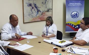Roney Torbello y Jhonatan Rodríguez reunidos en favor de la salud
