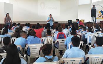 Charla escolar de prevención de VIH