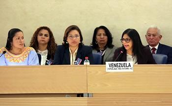 Delegación oficial de Venezuela en EPU de la ONU 2016