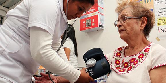 Jornada de despistaje de hipertensión. ARCHIVO