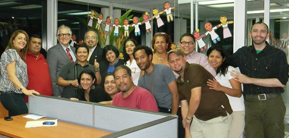 Sociedad Civil con trabajo en VIH reunida con Dr. César Núñez, Director Regional de ONUSIDA para América Latina