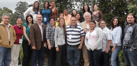 Participantes del Taller de inducción de gestores de proyectos financiados por UE